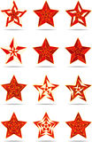 Abstrakte Sterne Stockbilder