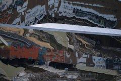 Abstrakte Straßenwand der moderner Kunst Lizenzfreie Stockfotos