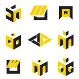 Abstrakte Symbole Stockfotografie