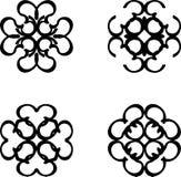 Abstrakte Symbole vektor abbildung