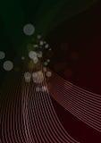 Abstrakte Tapete mit Zeilen und Kreisen Lizenzfreies Stockbild
