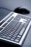 Abstrakte Tastatur und Maus Lizenzfreie Stockfotografie