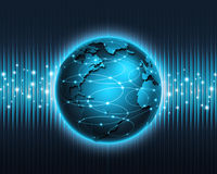 Abstrakte Technologie Lizenzfreies Stockfoto