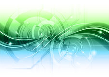 Abstrakte Technologie Lizenzfreie Stockfotografie
