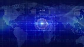 Abstrakte Technologiehintergrund SCHLEIFE lizenzfreie abbildung