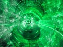 Abstrakte Technologieunschärfe - digital erzeugtes Bild Lizenzfreies Stockbild