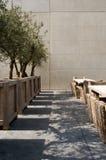 Abstrakte Terrasse lizenzfreie stockfotografie