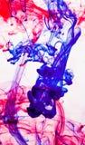 Abstrakte Tinte im Wasser lizenzfreies stockbild