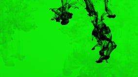 Abstrakte Tinten-Farbe Art Blend Colorful Splash im Underwater stock video footage
