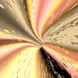 Abstrakte Tunnelillustration Stockbilder