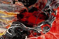 Abstrakte Turbulenz Lizenzfreies Stockfoto
