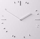 Abstrakte Uhr Stockbild