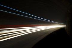 Abstrakte und interessante Kunstkonzentration des Lichtes Lizenzfreie Stockfotos
