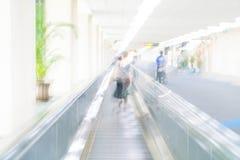 abstrakte Unschärfe im Flughafen Lizenzfreie Stockbilder