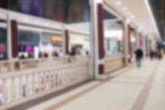 Abstrakte Unsch?rfe und defocused sch?nes Einkaufszentrum von deparment Speicher f?r Hintergrund lizenzfreie stockfotos