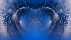 Abstrakte, Unterwasser-, bunte Zusammensetzung mit Blasen Lizenzfreies Stockfoto