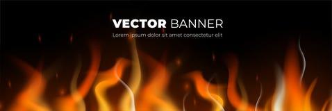 Abstrakte Vektorfahnen-Entwurfsschablone vektor abbildung