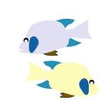 Abstrakte Vektorfische Lizenzfreie Stockfotos