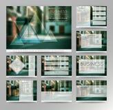 Abstrakte Vektorhintergründe von Digitaltechniken Lizenzfreies Stockbild