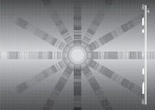 Abstrakte vektorhintergrund-Silber-Auslegung Lizenzfreies Stockfoto