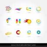 Abstrakte Vektorikonen eingestellt Vektor-Illustration, Grafikdesign Editable für Ihr Design Abstrakte Ideen für Firmenzeichen vektor abbildung