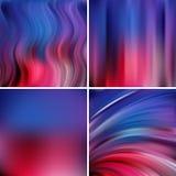 Abstrakte Vektorillustration des Hintergrundes mit unscharfem Licht Lizenzfreies Stockfoto