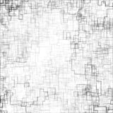 Abstrakte Vektorillustration gemacht in der generativen Kunstart vektor abbildung