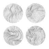 Abstrakte vektorkreise Stockbilder