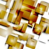 Abstrakte Vektorlinien und -quadrate Stockfoto