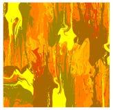 Abstrakte vektortapete in den warmen Farben stock abbildung