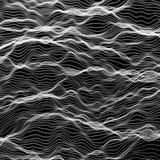 Abstrakte vektorwelle stock abbildung