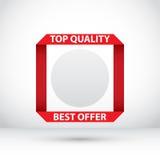 Abstrakte Verkaufs-Fahne Rabatt-Design Lizenzfreie Stockfotos
