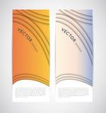 Abstrakte vertikale Vektorfahnen vektor abbildung