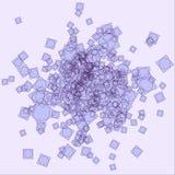 Abstrakte violette Verwirrung vektor abbildung