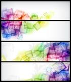 Abstrakte Visitenkarte Stockfotografie