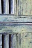 Abstrakte Vorhänge Fenstervarese-Palastitaliens im Ziegelstein Lizenzfreie Stockfotografie