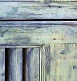 Abstrakte Vorhänge Fenstervarese-Palastitaliens im Ziegelstein Lizenzfreies Stockfoto