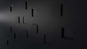 Abstrakte Würfel des Hintergrundes 3D Lizenzfreie Stockbilder