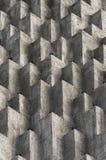 Abstrakte Würfel protusions auf Zement Lizenzfreie Stockfotografie