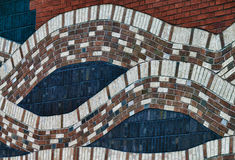 Abstrakte Wand Lizenzfreies Stockbild