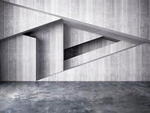 Abstrakte Wand des Innenhintergrundes Stockbild