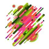 Abstrakte Wassermelone Lizenzfreie Stockfotografie