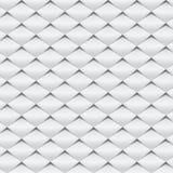 Abstrakte weiße/graue Musterhintergrund-Vektorillustration Lizenzfreies Stockbild