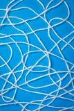 Abstrakte weiße Wollezeichenketten Lizenzfreies Stockfoto