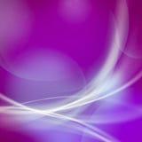 Abstrakte weiche Linie und bokeh auf magentarotem und rosa Hintergrund. Stockfoto