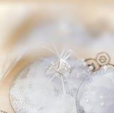 Abstrakte weiche Unschärfehintergrund-Hochzeitsdekoration Stockfoto