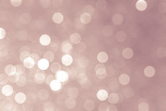 Abstrakte Weihnachtslichter, Hintergrund bokeh Kreise Lizenzfreie Stockfotos