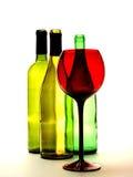 Abstrakte Wein-Hintergrund-Auslegung Stockbild