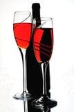 Abstrakte Wein-Hintergrund-Auslegung Stockfotografie