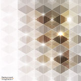 Abstrakte Weinlese moderner erstklassiger hexadecagon Vektor Lizenzfreie Stockfotografie